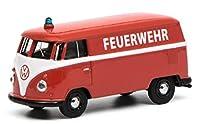 Schuco シュコー 1/64 フォルクスワーゲン Volkswagen T1 kastenwagen 消防指令車 Feuerwehr