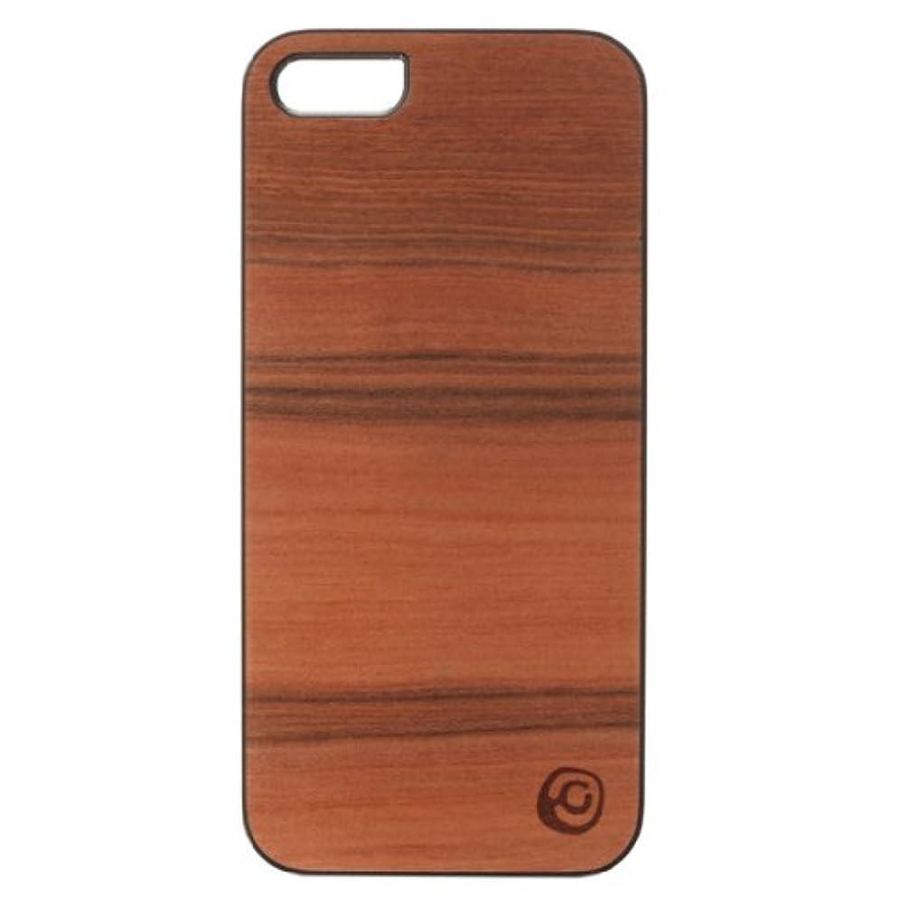 つまらない適切に農夫【日本正規代理店品】Man&Wood iPhone SE/5s/5ケース 天然木 Genuine Sai Sai ブラックフレーム バータイプ I1467i5
