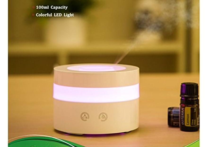 印をつけるヘクタール春Actpe Portable Travel-size USB 100ml Aroma Essential Oil Diffuser Ultrasonic Air Humidifier Ultrasonic Cool Mist...