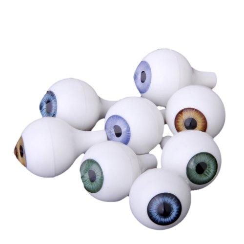 8個セット ドール アイ ドールアイ アクリル 22mm 4色 ラウンド 人形 眼 目 操り人形 ドールメイキング ハンドメイド修理に