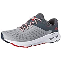 The North Face Men's Ampezzo Trail Running Shoes, Meld Grey/Ebony Grey