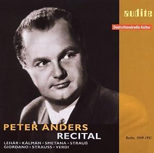 ペーター・アンダース録音集1949-51年 フリッチャイ、他(2CD)