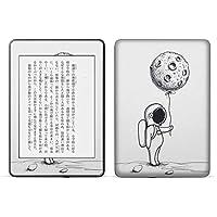 igsticker kindle paperwhite 第4世代 専用スキンシール キンドル ペーパーホワイト タブレット 電子書籍 裏表2枚セット カバー 保護 フィルム ステッカー 016055 月 宇宙 宇宙服
