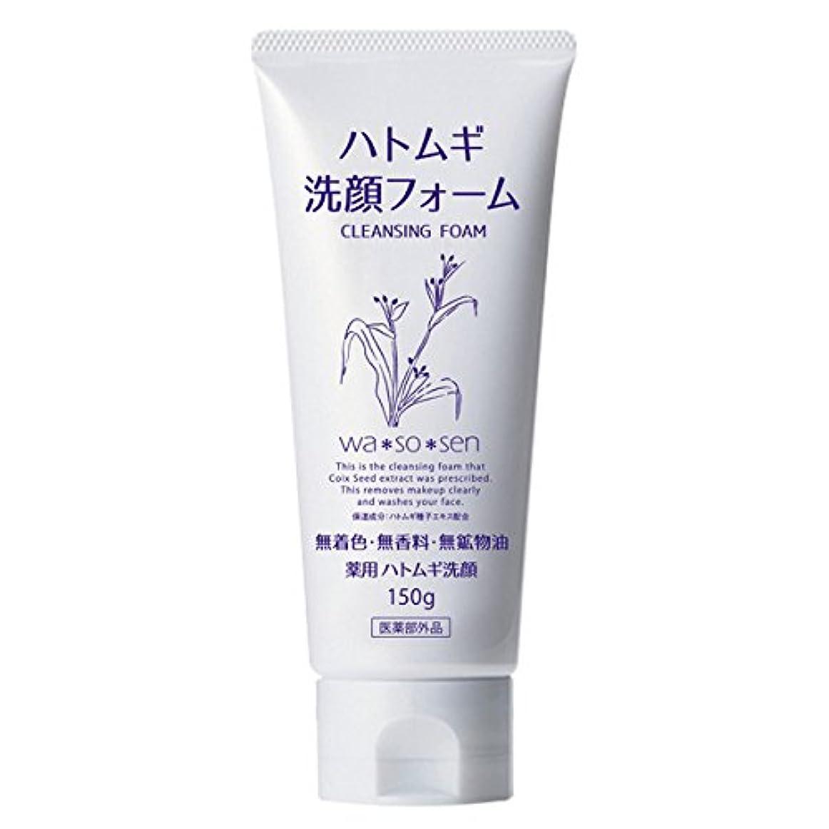 汚染されたいつでも改善する薬用ハトムギ洗顔フォーム (150g)