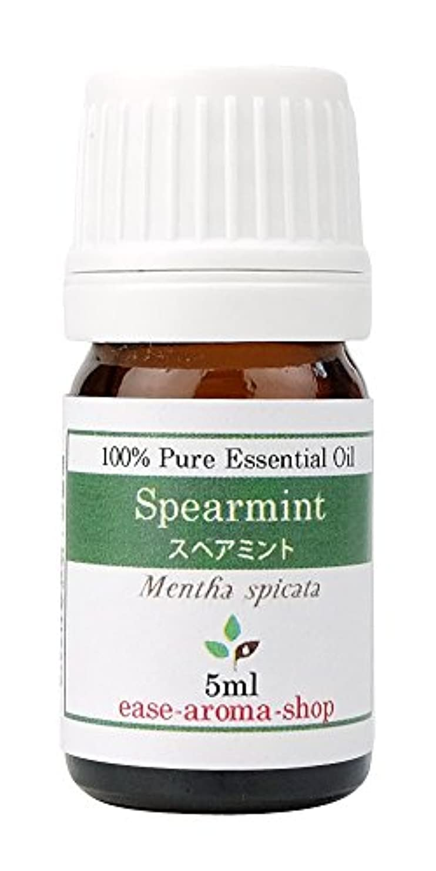 苗子供時代カップルease アロマオイル エッセンシャルオイル オーガニック スペアミント 5ml  AEAJ認定精油