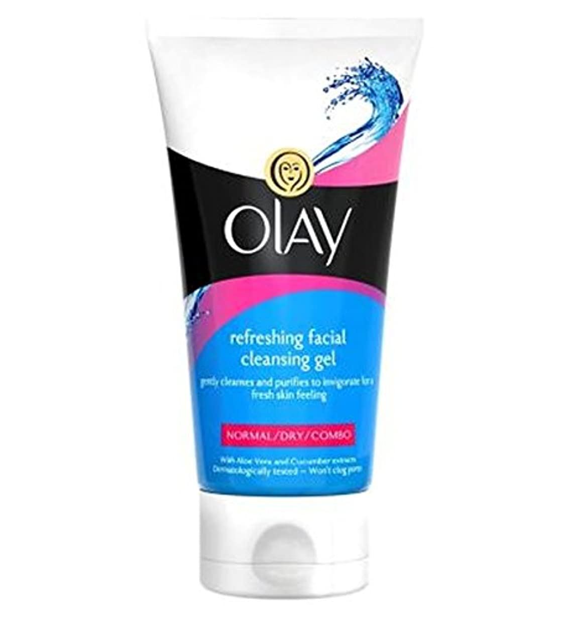 汗事件、出来事ラテンオーレイさわやかな洗顔ジェル150Ml (Olay) (x2) - Olay Refreshing Facial Cleansing Gel 150ml (Pack of 2) [並行輸入品]