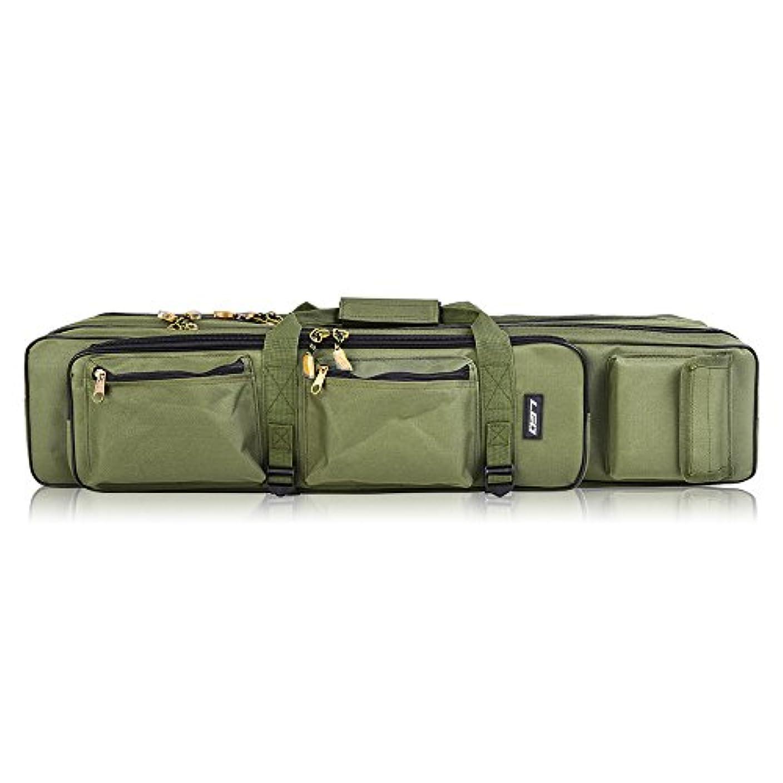 製造業入手しますパキスタンLixadaアウトドア3レイヤ釣りバッグバックパック80 cm / 100 cm釣りロッドリールキャリアバッグ釣りポールタックルバッグキャリーケース旅行バッグ