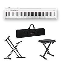 ROLAND FP-30 WH 電子ピアノ X型スタンド/X型椅子/キャリングケース付セット