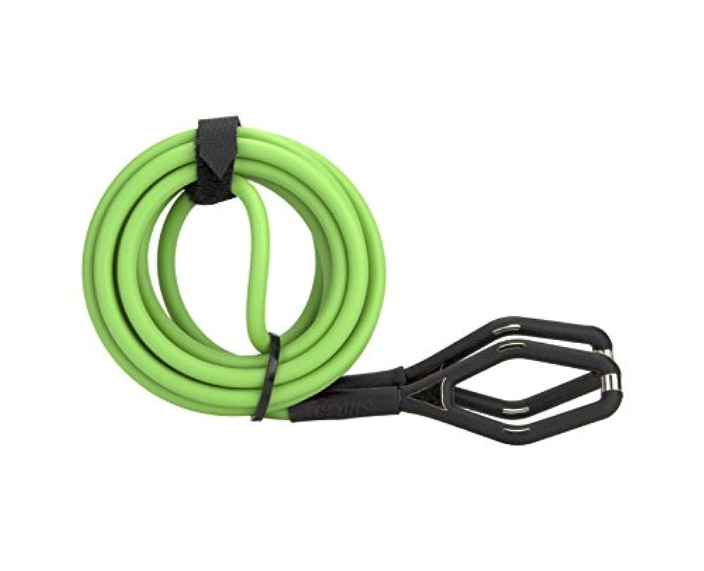 にぎやか受け皿誰がcrops(クロップス) ユニバーサルケーブル DLC-5180 Φ5×1800mm グリーン