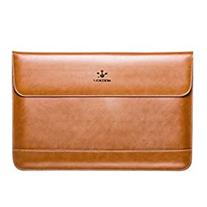 LENTION PCケース パソコンケース スリーブ 封筒型スプリットレザーバッグ Macbook Air 11/Macbook 12など対応