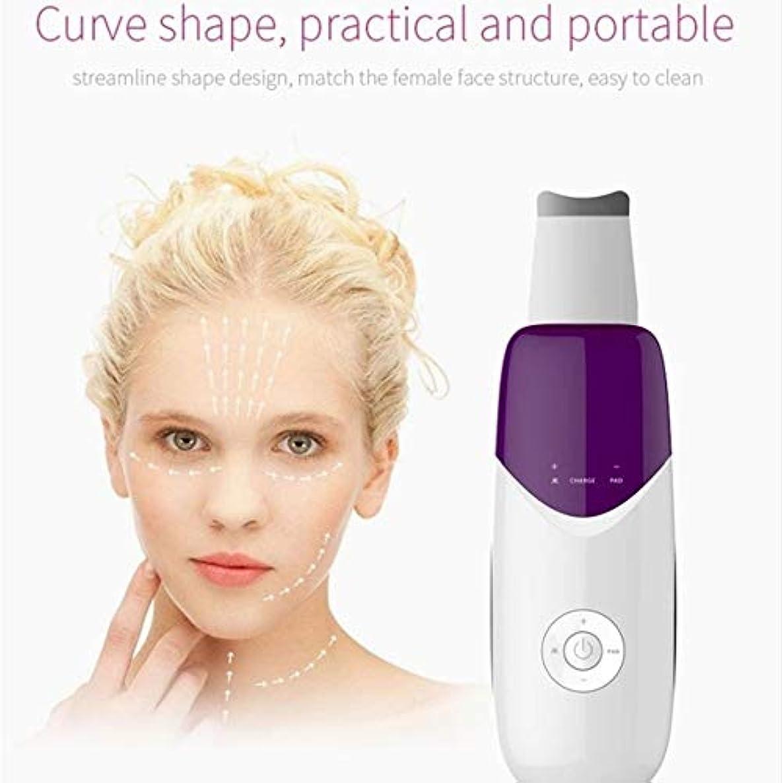 傾向しかしベリー顔の皮膚スクラバー、イオン毛穴クリーナー電気、にきび面皰ExtractorのUSB充電式、ツールクレンザーデッドスキン除去ピーリングアンチエイジングリンクル?フェイシャルリフティング
