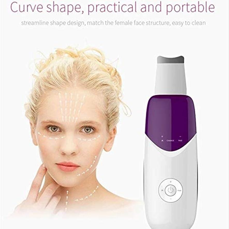 相談する形容詞インフルエンザ顔の皮膚スクラバー、イオン毛穴クリーナー電気、にきび面皰ExtractorのUSB充電式、ツールクレンザーデッドスキン除去ピーリングアンチエイジングリンクル?フェイシャルリフティング