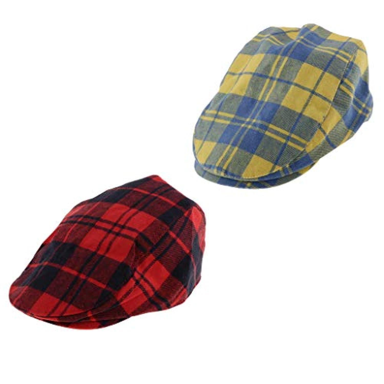 KESOTO 子供 ハンチング フラットキャップ 帽子 ハット ハンチング帽 ベレー帽 春秋冬 通気性