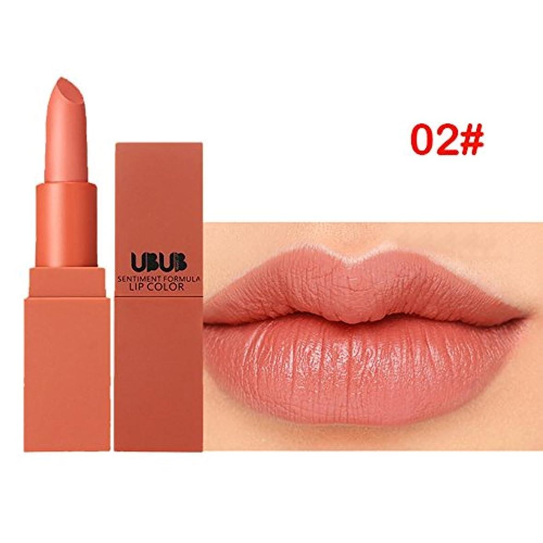 統合補うアレルギー性フラワーカラー リップスティック YOKINO 保湿 防水唇 光沢 口紅 24時間持久 おしゃれ  リップバーム  リップ 滑る カップにこだわらない 5色 選択 新作-4312 (2#)