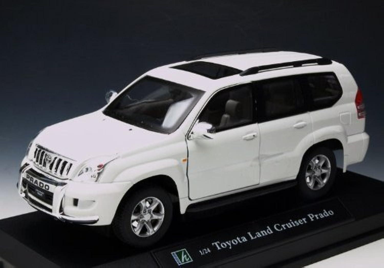 Cararama/カララマ トヨタ ランドクルーザー プラドー ホワイト HL125067