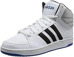 adidasスニーカー黒白