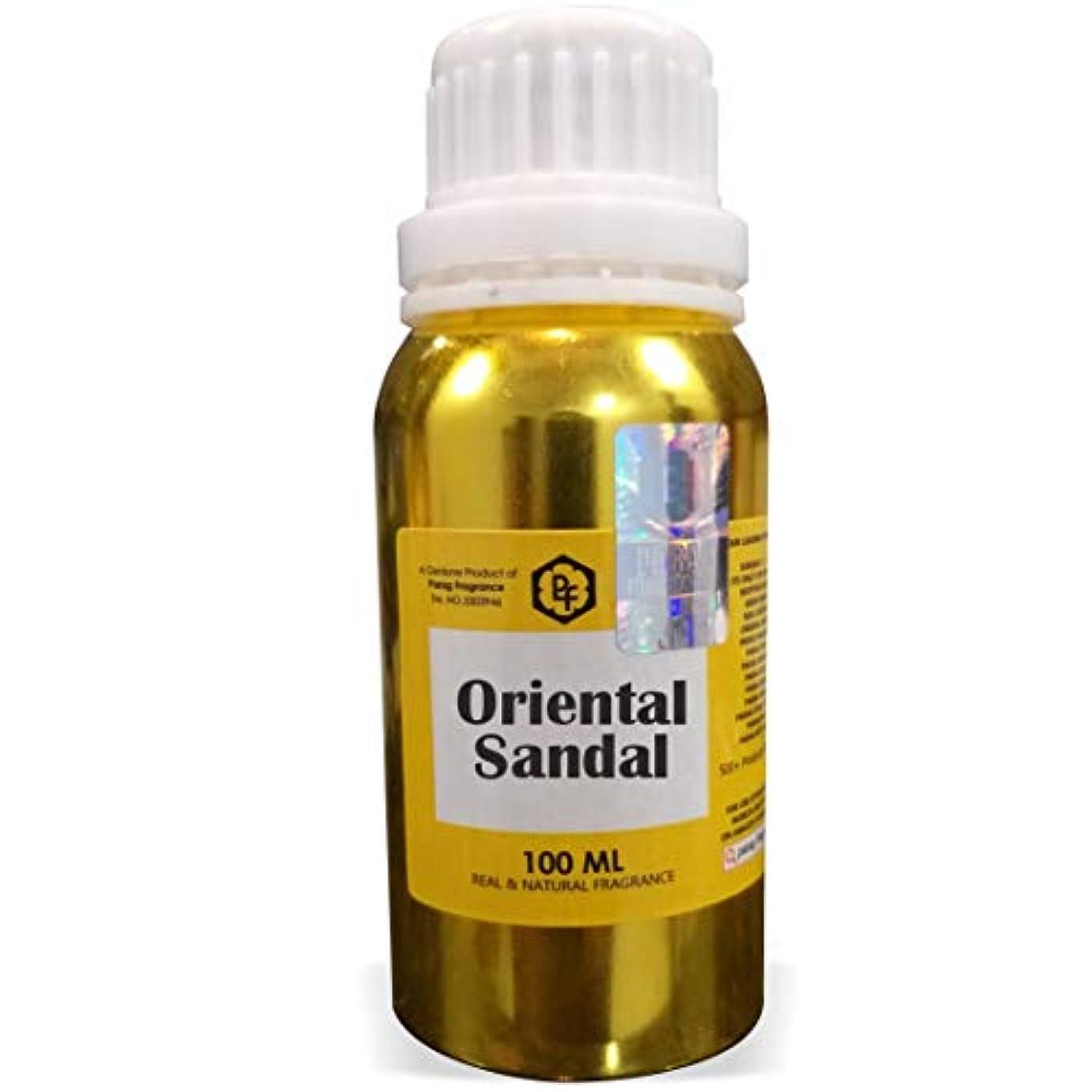 電話に出る不十分要塞Paragフレグランスオリエンタルサンダルアター100ミリリットル(男性用アルコールフリーアター)香油| 香り| ITRA