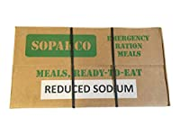 Sopakco MRE Meals Ready To Eat Case For Survival And Emergency Green Box by Sopakco Emergency Ration Meals