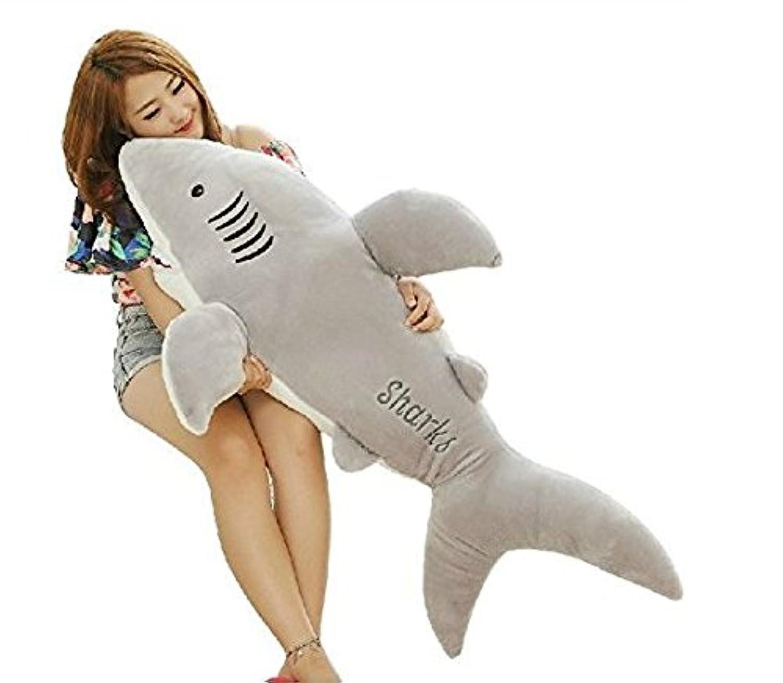 HYAKURI 鮫 サメ ぬいぐるみ クリスマス プレゼント 可愛い ぬいぐるみ 抱き枕 誕生日プレゼント サメ (120cm)
