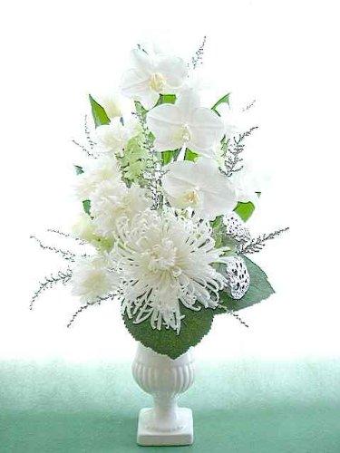 アナスタシアと胡蝶蘭仏花アレンジ プリザーブドフラワー