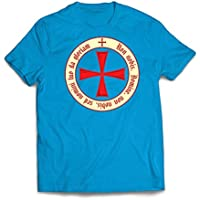 lepni.me Men's T-Shirt The Templar Code Christian Knight Order Great Christmas, Birthday, Valentine Gift for Husbands, Boyfriends, Dads Or Friends