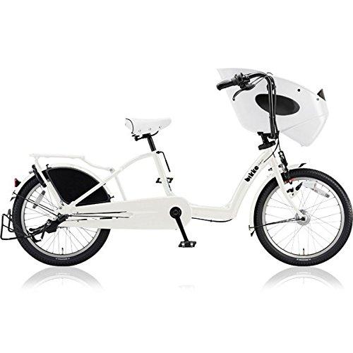 ブリヂストン(BRIDGESTONE) 子供乗せ自転車 ビッケポーラー(bikke POLAR) b BP03UT E.BKホワイト