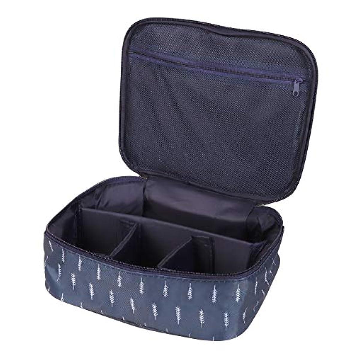 [CAWKAY] メイクボックス 旅行用化粧ケース コスメ バッグ ボックス トラベル化粧ポーチ メイクブラシ 小物入れ 収納