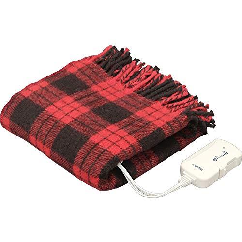 アイリスオーヤマ 電気毛布 ブランケット 室温センサー搭載 ...