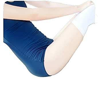 【ぴゅありぼん】大きいサイズ 旧スクール水着 白ニーソセット XXLサイズ 旧スク スク水 男の娘 メンズ対応サイズ TOKYO GOODS MARKET