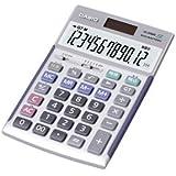 カシオ(CASIO) 電卓 12桁 JS-20WK 1台