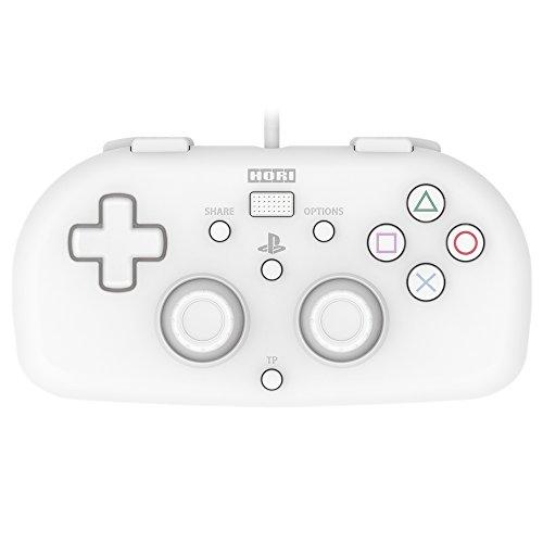 【SONYライセンス商品】ワイヤードコントローラーライト for PS4 ホワイト【PS4対応】