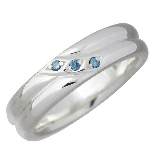 Blue Cat ブルーキャット シルバー ブルーダイヤモンド リング レディース 指輪 9~15号