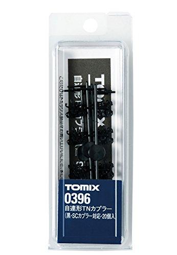 TOMIX Nゲージ 0396 自連TNカプラー (黒・SCカプラー対応・20個入)