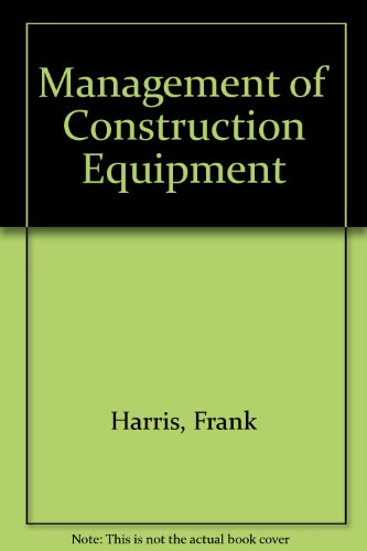 Download Management of Construction Equipment 0333558189