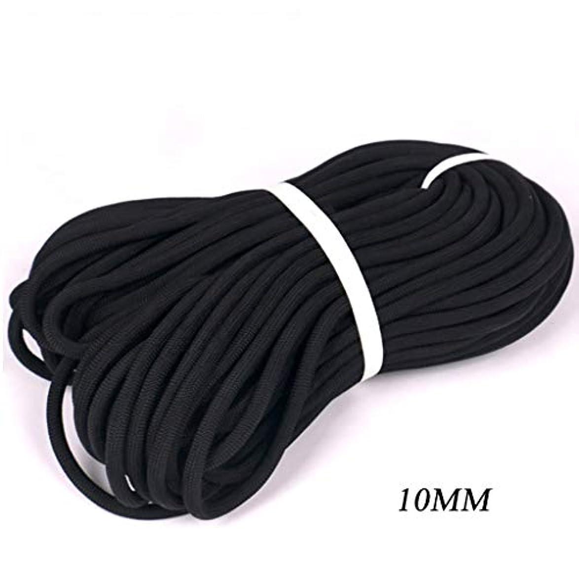 モデレータ比喩行政ロープ(張り綱) 安全ロープ屋外用固定ロープ下り坂/野外開発/空中作業用Φ10mm(0.39in)黒 (Size : 100m(328ft))