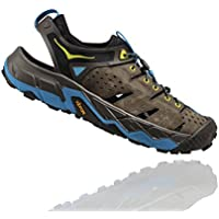HOKA ONE ONE Men's Tor Trafa Hiking Sandal,Major Brown/Black Olive,US 12.5 M