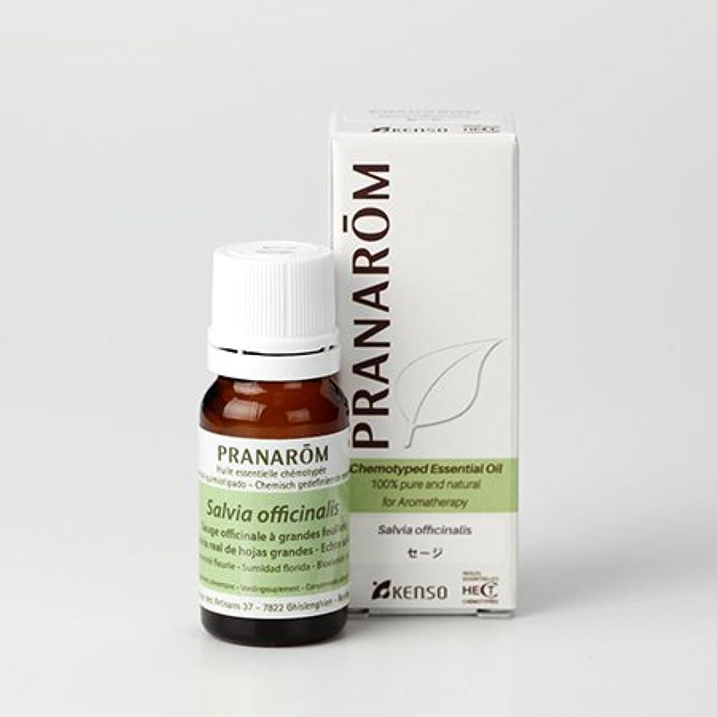 分岐するケーブルカー定期的に【セージ 10ml】→樟脳のようなハッキリとした香り?(リフレッシュハーブ系)[PRANAROM(プラナロム)精油/アロマオイル/エッセンシャルオイル]P-164