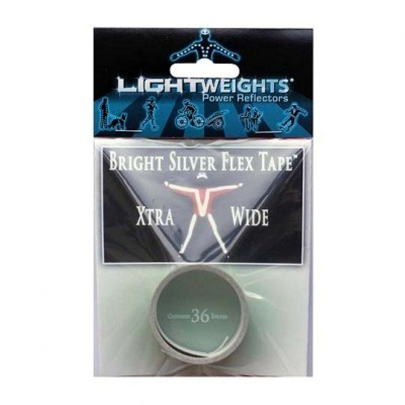 トランクライブラリ生態学追い払う(LIGHTWEIGHTSPowerReflectors)(自転車用リフレクター)X-Wide Flex Tape 36