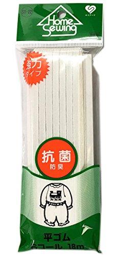 エミナード 平ゴム 強力タイプ 6コール 抗菌 S1-22 18m