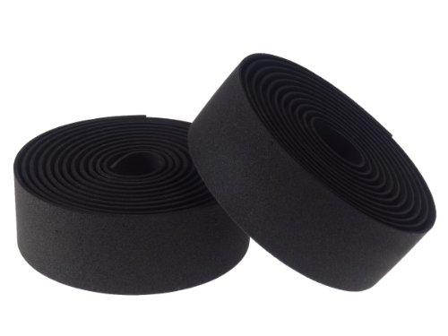 EMPT(イーエムピーティー) EVA ロード用 バーテープ ES-JHT020 クッション製に優れたEVA製バーテープ ロード ピスト ドロップハンド対応 ※エンドキャップ、エンドテープ付属 黒(ブラック)