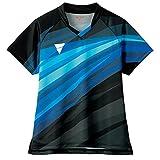 ヴィクタス(VICTAS) 卓球 ゲームシャツ V-OLG236 吸水速乾 レディース ブラック(1000) S 512112 【JTTA公認】