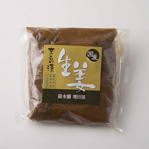 生姜 奈良漬 (小) 奈良で作りました 高知県産 ショウガ 使用