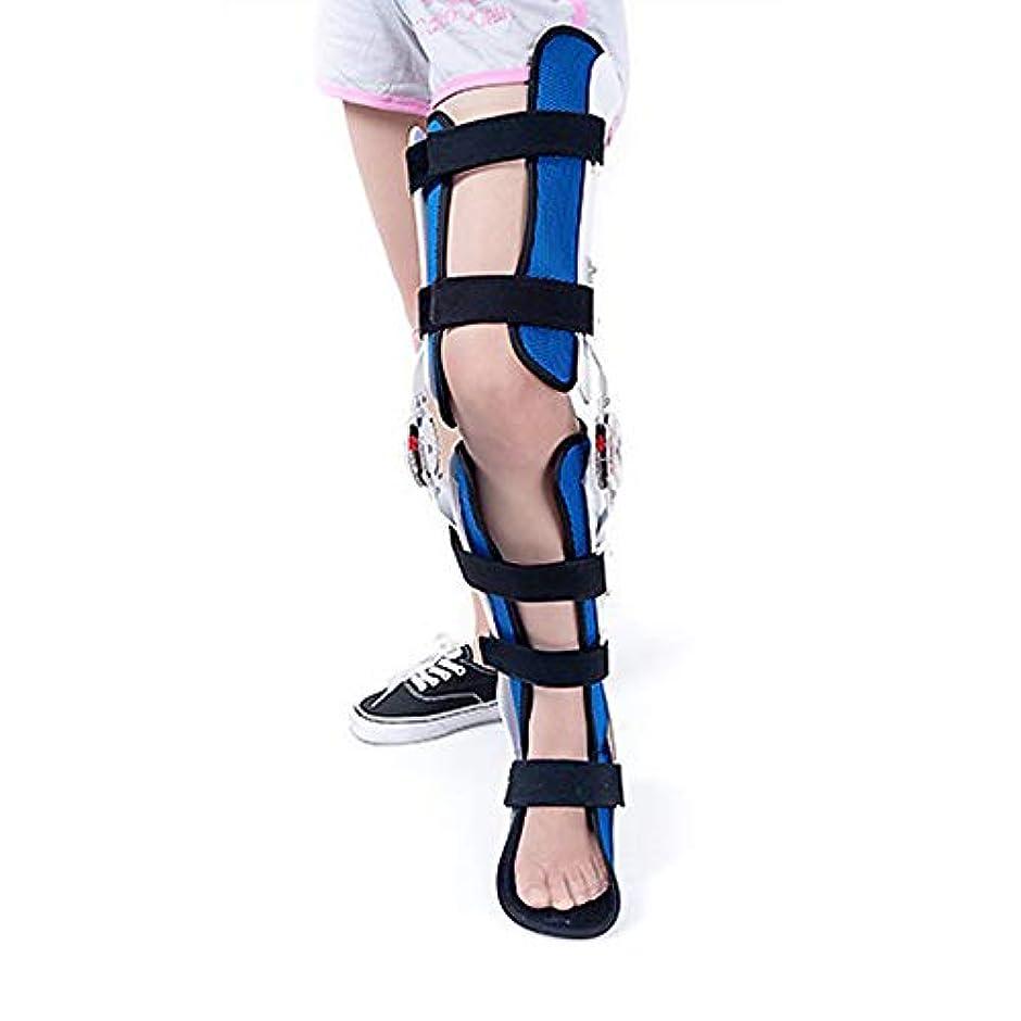 称賛健全チャペル膝足首足装具、股関節膝足装具脚の骨折、下肢麻痺、ウォーキングブーツで固定されたヒップウォーキングブレース