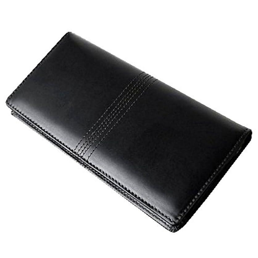 意味するバス拮抗するレザー 高級長財布 [ DIANA DICKY ] メンズ (ブラック)