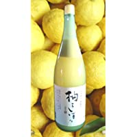 馬路村柚子 柚子しぼり 1,8L(塩入り)