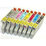 エプソン 【EPSON IC8CL23(プリンター用互換インク)】汎用インクカートリッジ 8色セット