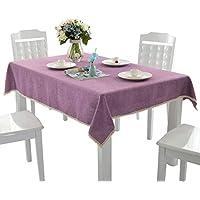 (サモルックス) Sumolux 無地 食卓カバー テーブル クロス テーブルクロス レース インテリア 130*170