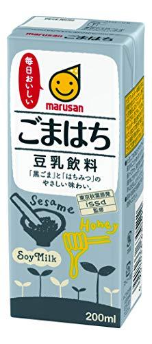 マルサン 豆乳飲料 ごまはち 200ml ×24本