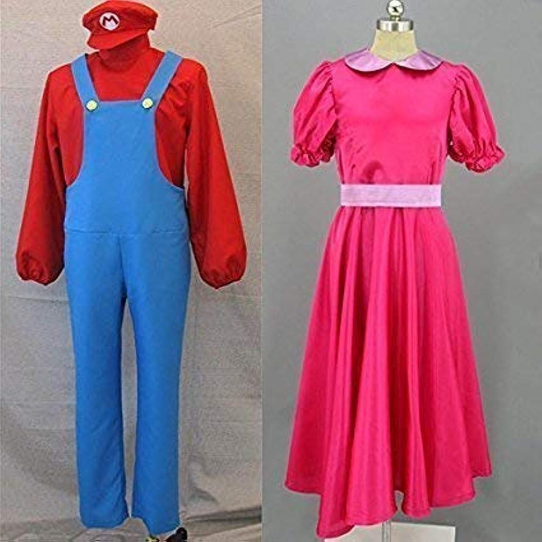 いたずらメモ料理コスプレ衣装ディズニー スーパーマリオシリーズ ルイージ風 2着