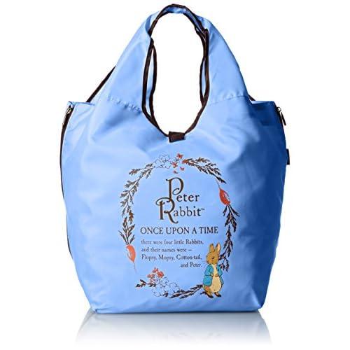 [ピーターラビット] PETER RABBIT レジカゴバッグ ショッピング コンパクト仕様 0690 ブ (ブルー)